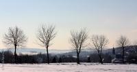 Winterlandschaft in Gahlenz