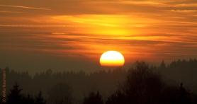 Sonnenuntergang in der Heimat