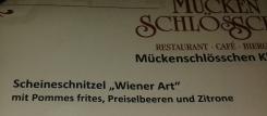 Scheineschnitzel? Mit 5 € oder 10 € belegt?