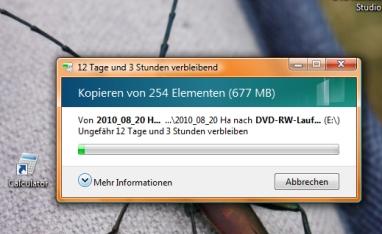 Früher waren Computer noch seeehr langsam.