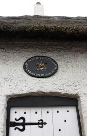 Türschild: Hunters Cottage