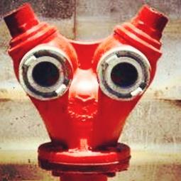 Der gruselig-traurige Hydrant