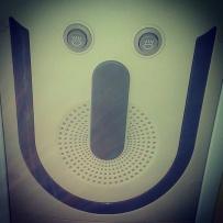 Was grinst mich denn da an?