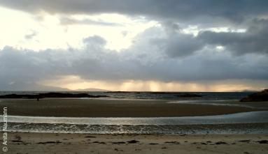 Wind, Wetter und Sonne an der Küste von Arisaig