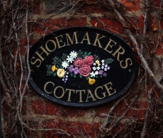 Impressionen aus England: Shoemakers Cottage